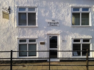 The front of the Honiton Chiropody practice.